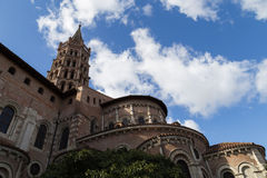 Basilica Saint-Sernin in Toulouse, France Stock Photography