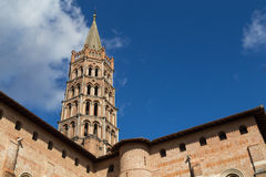 Basilica Saint-Sernin in Toulouse, France Royalty Free Stock Photography