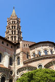 Basilica of Saint Sernin, Toulouse, France Stock Photo