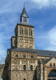 Basilica of Saint Servatius, Maastricht, Netherlands. The Basilica of Saint Servatius is a Roman Catholic church dedicated to Saint Servatius, in the city of Royalty Free Stock Photos