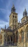 Basilica of Saint Servatius, Maastricht, Netherlands. The Basilica of Saint Servatius is a Roman Catholic church dedicated to Saint Servatius, in the city of Stock Image