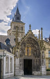 Basilica of Saint Servatius, Maastricht, Netherlands. The Basilica of Saint Servatius is a Roman Catholic church dedicated to Saint Servatius, in the city of Royalty Free Stock Image