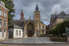 Basilica of Saint Servatius - Maastricht - Netherlands Royalty Free Stock Images