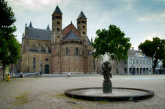 Basilica of Saint Servatius royalty free stock images