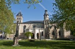 Basilica Saint Seurin at Bordeaux, France Stock Images