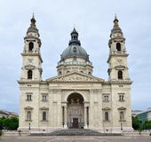 Basilica Saint Stephen in Budapest Royalty Free Stock Photo