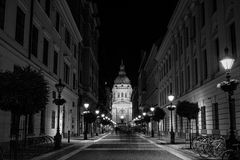 Basilica of Saint Stephen in Budapest, Hungary stock photography