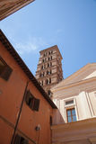 The basilica of Saint Sylvester the First. Rome. Royalty Free Stock Photography