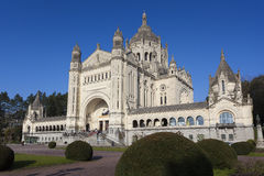 Basilica of Saint Therese, Lisieux Stock Images
