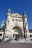 Basilica of Saint Therese, Lisieux, Normandy Royalty Free Stock Photo