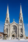 Basilica of Sainte-Anne-de-Beaupré Stock Photography