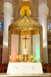 Basilica of Sainte-Anne-de-Beaupre, Quebec Stock Image