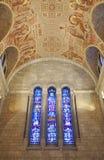 Basilica of Sainte-Anne-de-Beaupre, Quebec. City, Canada Stock Photo
