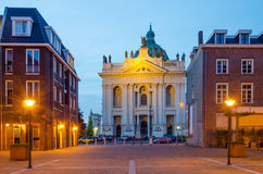 Basilica of Saints Agatha and Barbara in Oudenbosch Stock Image