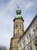 Basilica of Saints Erasmus and Pancrazio in Jelenia Gora. Poland Stock Image