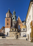Basilica of Saints Stanislaus and Wenceslaus Stock Photography