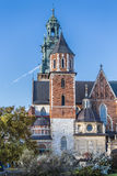Basilica of Saints Stanislaus and Wenceslaus Stock Images