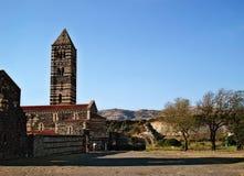 Basilica Sakkardga bell tower Stock Image