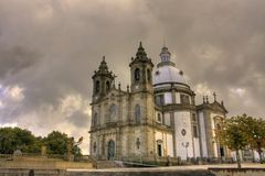 Basilica of Sameiro Braga Royalty Free Stock Photo