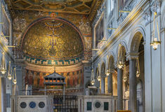 Basilica of San Clemente, Rome Stock Image