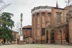 Basilica of San Domenico, Bologna, Italy Stock Images