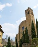 The Basilica of San Domenico. Siena, Italy Royalty Free Stock Photography
