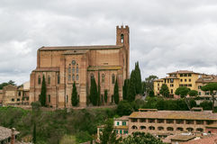 Basilica of San Domenico., Siena, Italy Royalty Free Stock Image