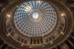 Basilica of San Fracesco di Paola Pantheon style dome, Naples Royalty Free Stock Photography