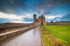 Basilica San Francesco fotografie stock