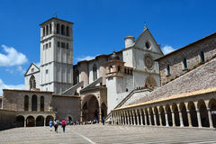 Basilica San Francesco, Assisi, Umbria/Italy Royalty Free Stock Photography