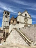 Basilica San Francesco stock images