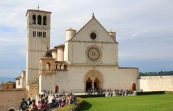 The Basilica of San Francesco Stock Photo