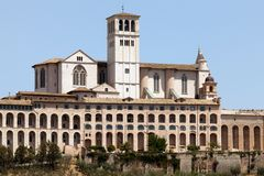 Basilica of San Francesco d'Assisi Stock Photo