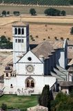 Basilica of San Francesco d'Assisi Stock Photography