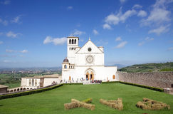 The Basilica of San Francesco d'Assisi, Assisi, Italy Stock Image