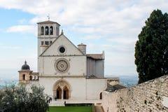 Basilica of San Francesco d'Assisi stock image