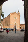 Basilica San Francesco in Siena. Tuscany, Italy. Stock Photo