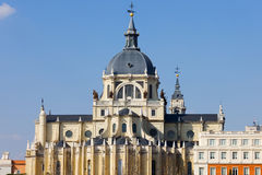 Basilica San Francisco el Grande in Madrid Royalty Free Stock Image