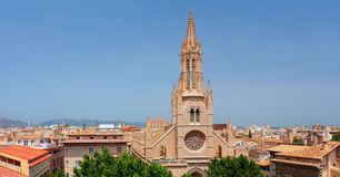 Basilica San-Francisco of Palma de Majorca, Spain Royalty Free Stock Images