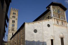Basilica San Frediano Royalty Free Stock Photos