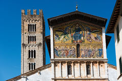 Basilica of San Frediano - Lucca Italy Royalty Free Stock Images