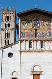 Basilica of San Frediano - Lucca Italy Stock Image