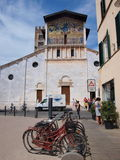 Basilica of San Frediano, Lucca, Italy Stock Photo