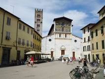 Basilica of San Frediano, Lucca, Italy Royalty Free Stock Image