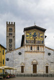 Basilica of San Frediano, Lucca, Italy Stock Images