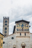 Basilica of San Frediano in Lucca, Italy. Royalty Free Stock Photography