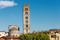 Basilica of San Frediano - Lucca Italy Royalty Free Stock Photo