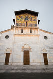 Basilica of San Frediano, Lucca, Tuscany, Italy Stock Photography