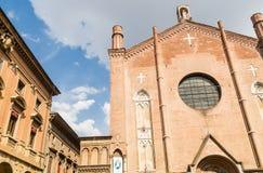 Basilica of San Giacomo Maggiore in Bologna, Italy Stock Photos