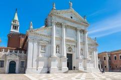 Basilica San Giorgio Maggiore island in Venice Royalty Free Stock Images